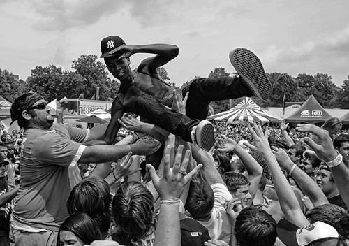 """Warped Tour Mosh Pit"" 
