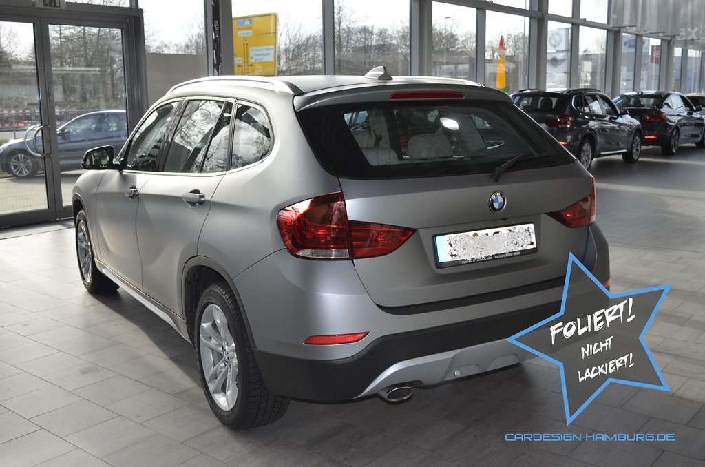 Bmw X1 M3 Frozen Grey Foliert 8 Christian Wiele Flickr