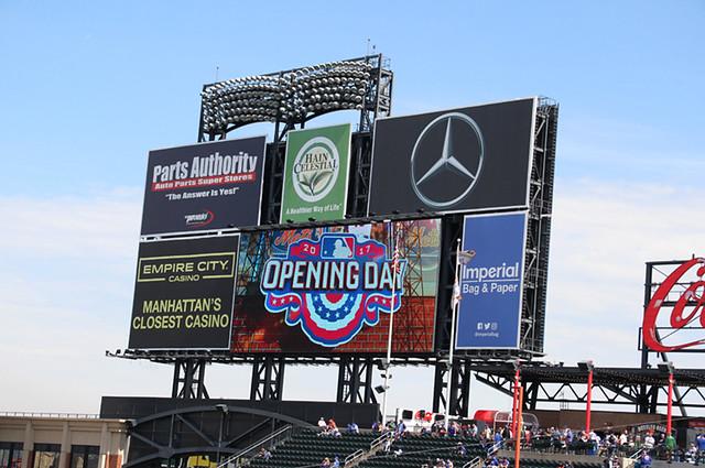 Mets Baseball Opening Day 2017