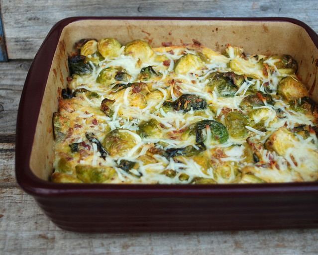 Brussel Sprouts Gratin blog