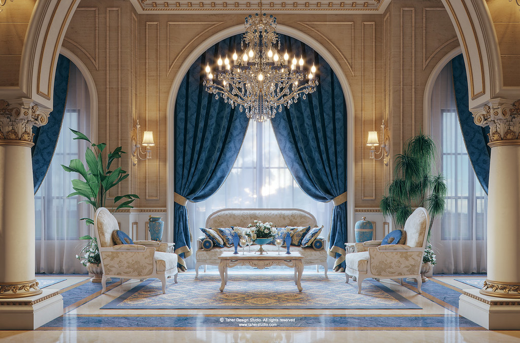 luxury mansion qatar by taher studio_11 - Luxury Mansion Interior