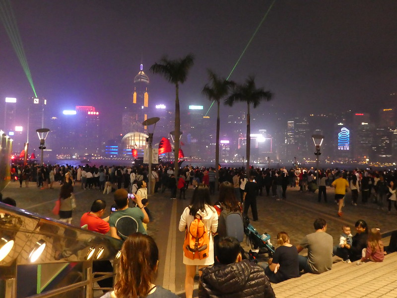 Symphony of Lights show, Victoria Harbour, Hong Kong
