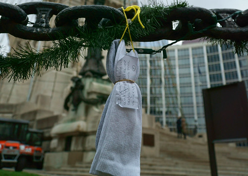 Monument Circle Socks