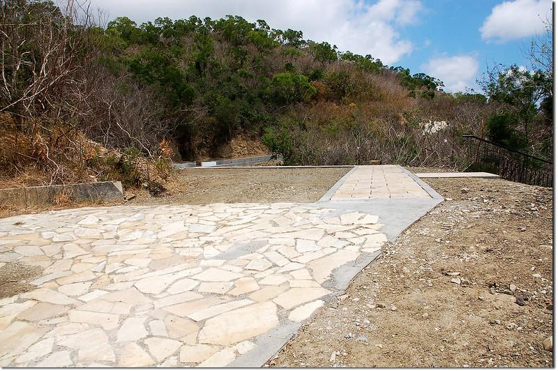大梅山蝴蝶谷步道岔路