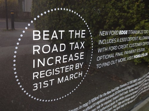 Ford Advertisement - Road Tax