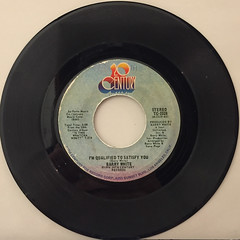 BARRY WHITE:I'M QUALIFIED TO SATISFY YOU(RECORD SIDE-A)