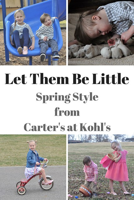Let Them Be Little - Spring Style from Carter's at Kohl's #PlayAllDay #ad @kohls