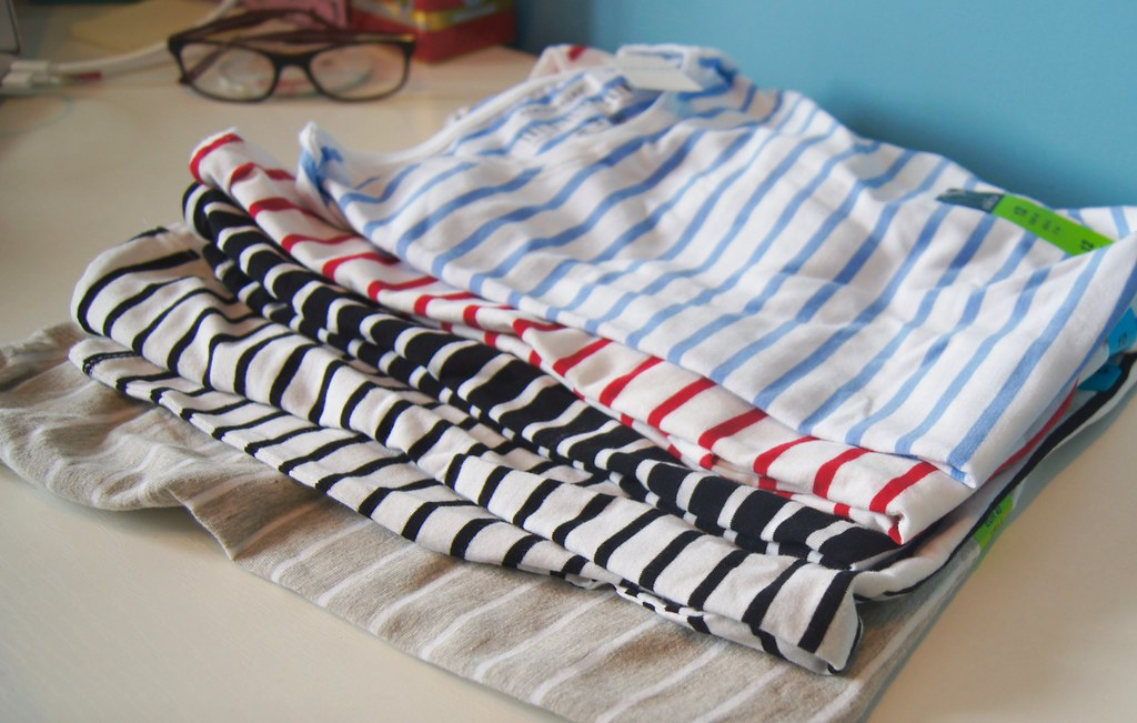Primark Haul - striped shirt addiction