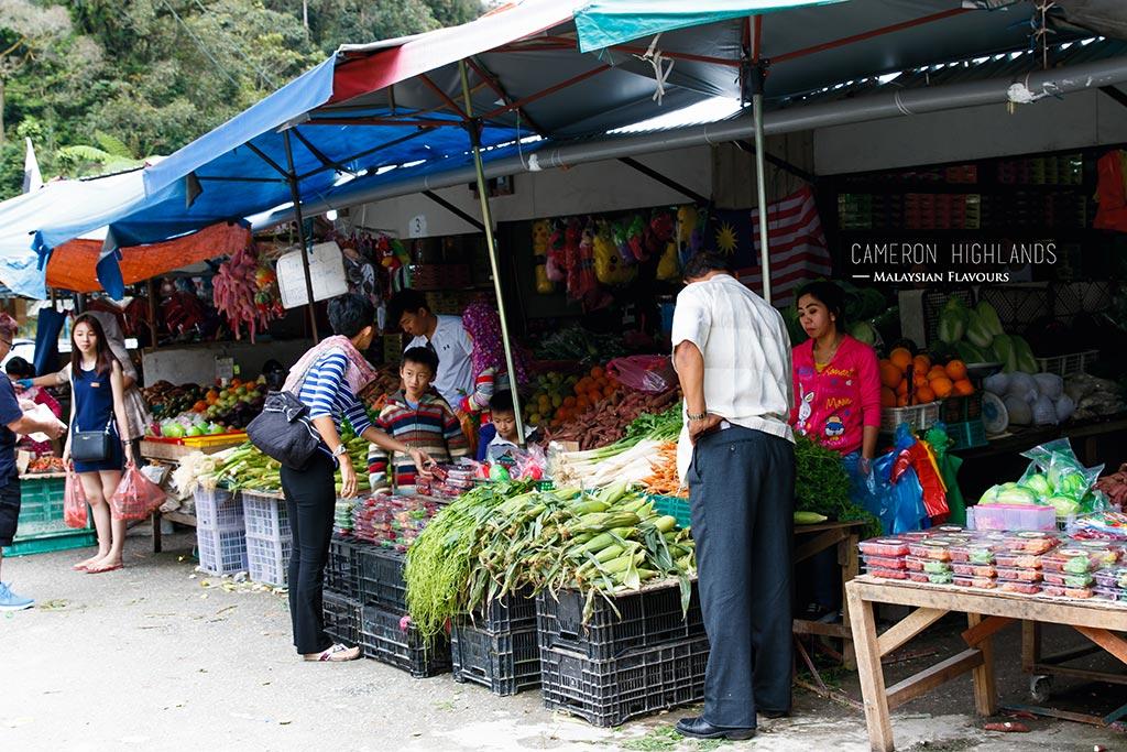 Brinchang Morning Market