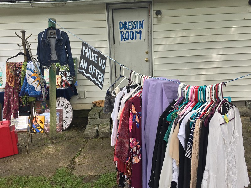Porch Finds: Changing students' perspective on thrifting