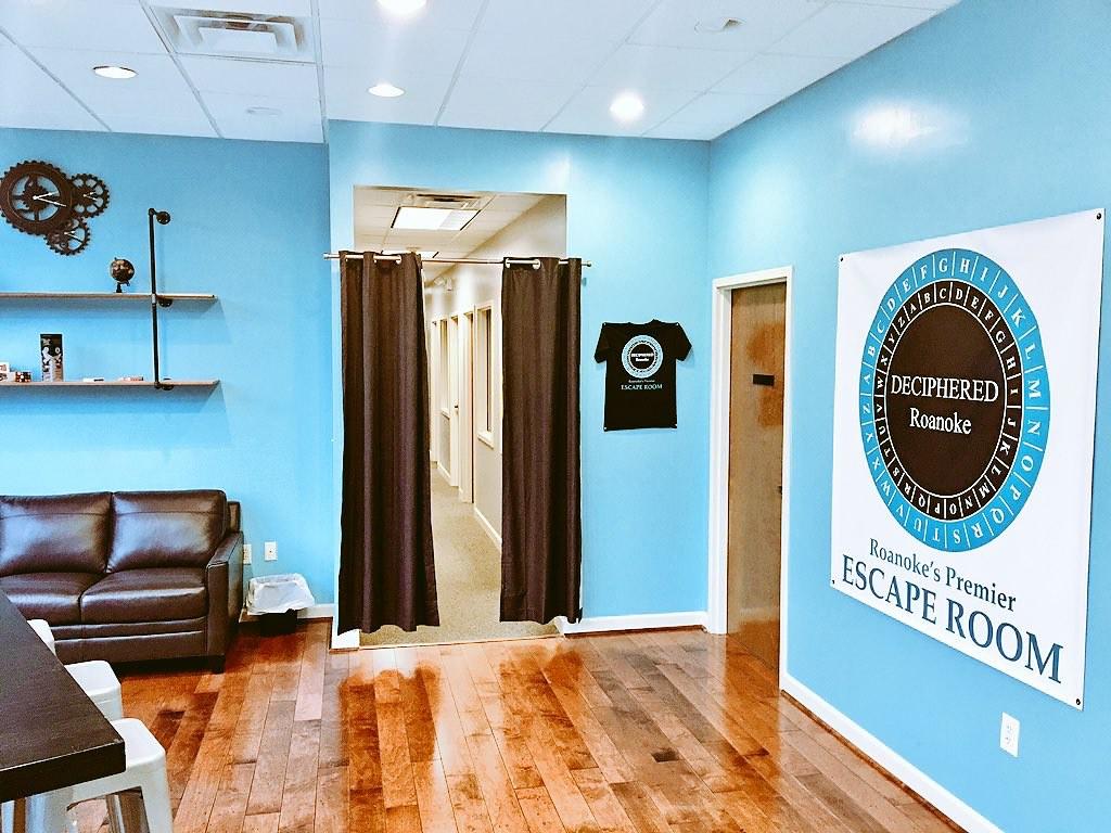 Deciphered Roanoke Escape Room Visit Virginia 39 S Blue