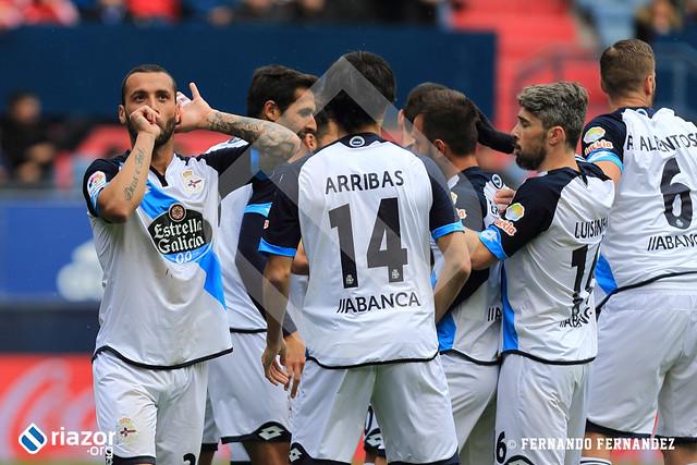 Liga Santander. Osasuna 2 - Deportivo 2