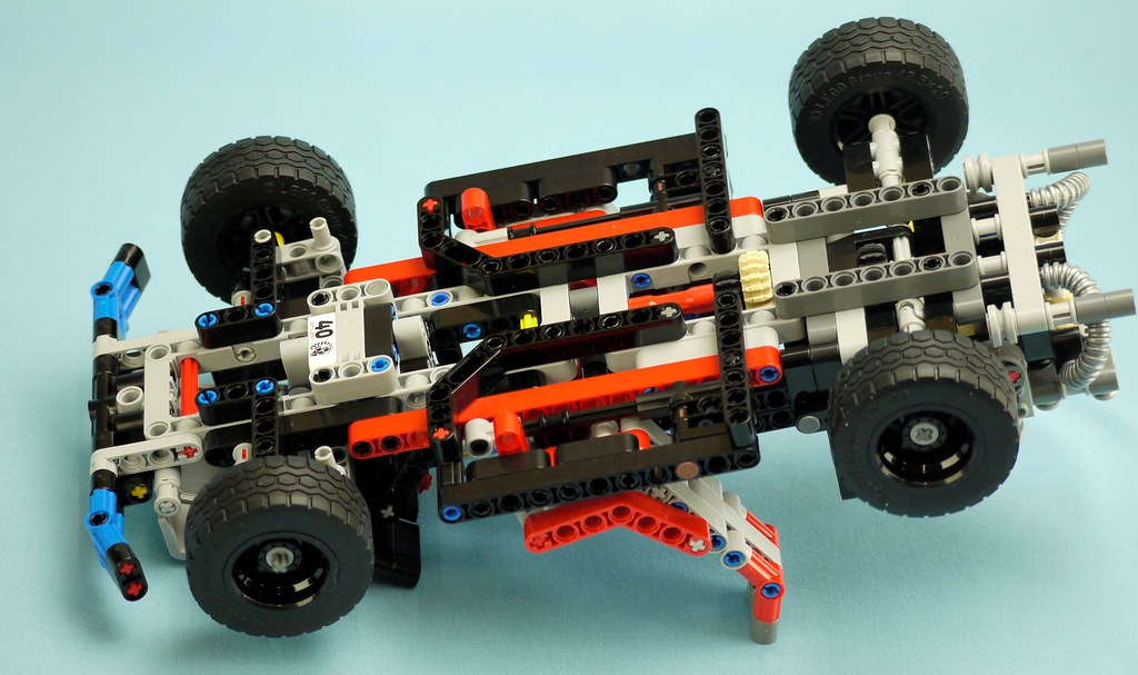 Technic 40 Year Anniversary Model Brickset Lego Set Guide And