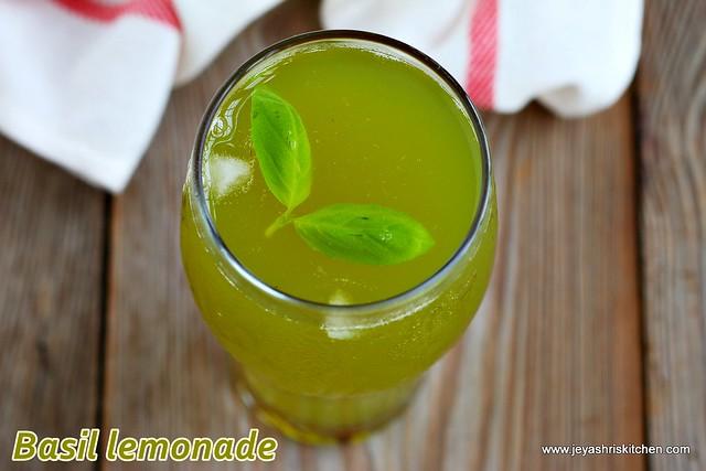 Basil -lemonade