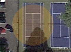 6 My Apartment's Tennis Court
