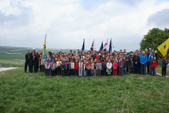 St George's Day Hike 2017