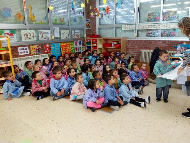 Día do libro en  Infantil