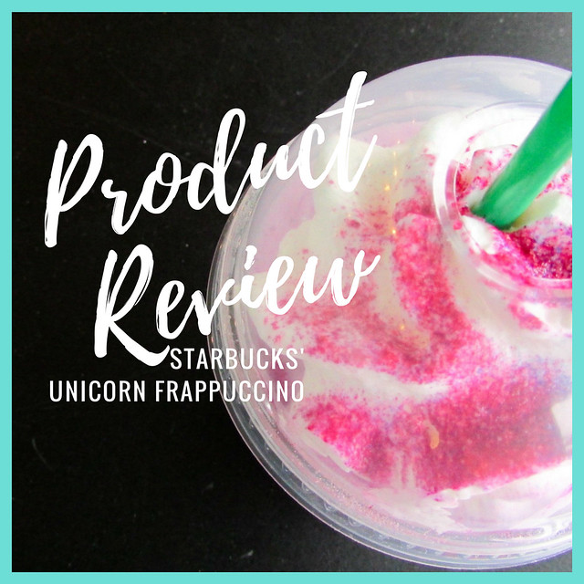 Product Review: Starbucks' Unicorn Frappuccino