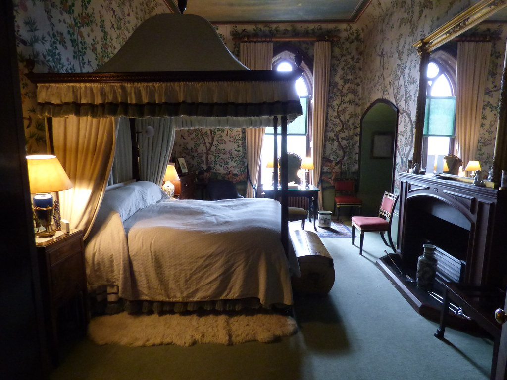 ... Eastnor Castle   Bedroom | By Ell Brown