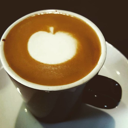 A simple little macchiato for you.