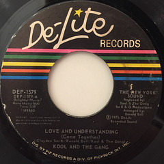 KOOL AND THE GANG:LOVE AND UNDERSTANDING(LABEL SIDE-A)