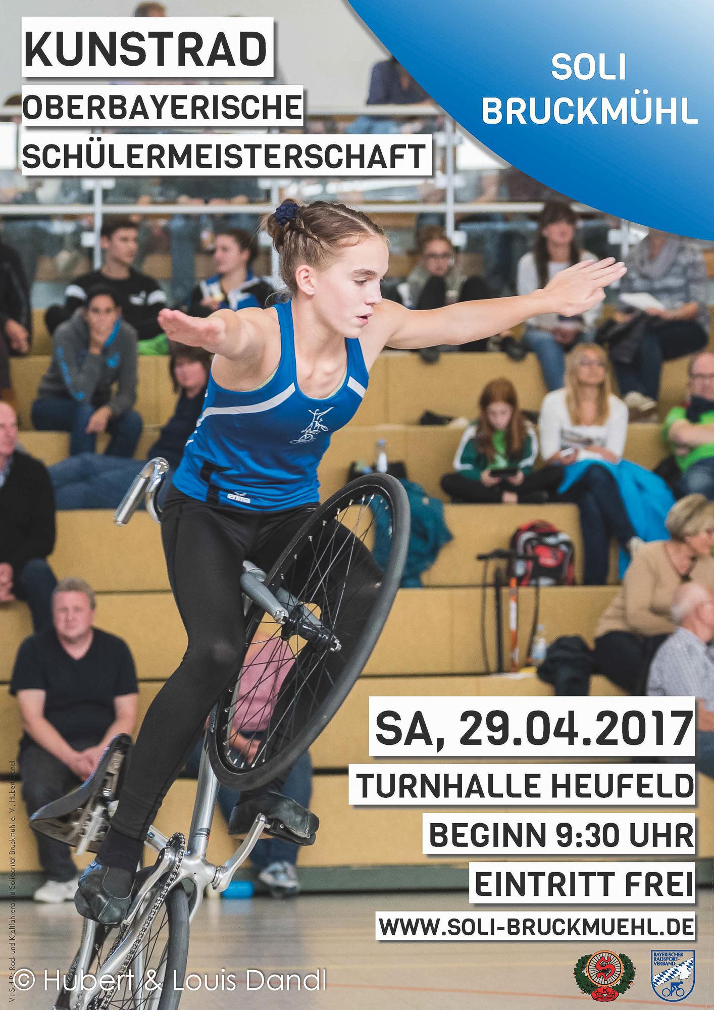 Oberbayerische Schülermeisterschaft 2017 in Bruckmühl