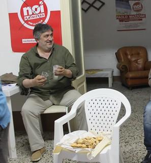Modesto De Girardis pronto a brindare ancora con Vitto sindaco
