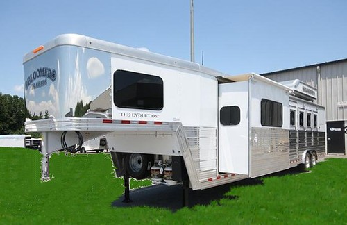 All Pro Trailers >> 2013 BLOOMER 4-Horse Slant Load Horse Trailer with Living …   Flickr