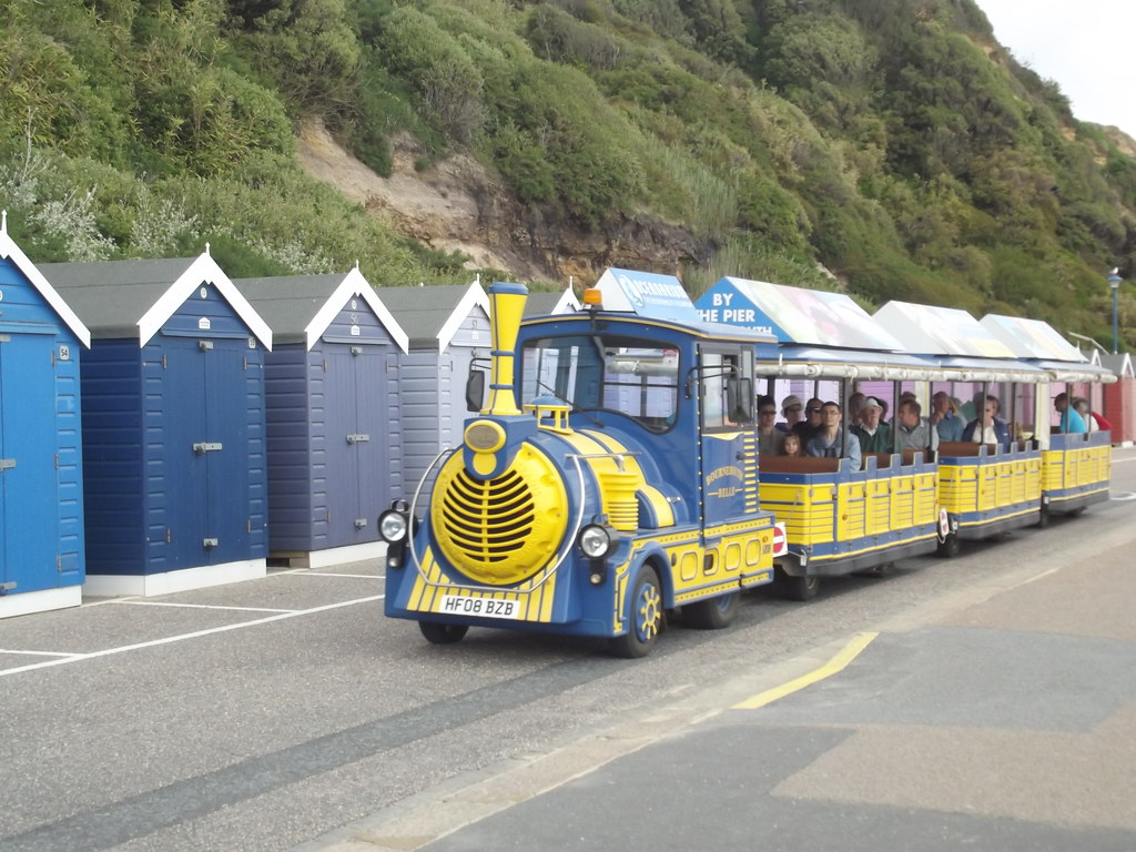 Bournemouth East Beach Land Train The Beach To The