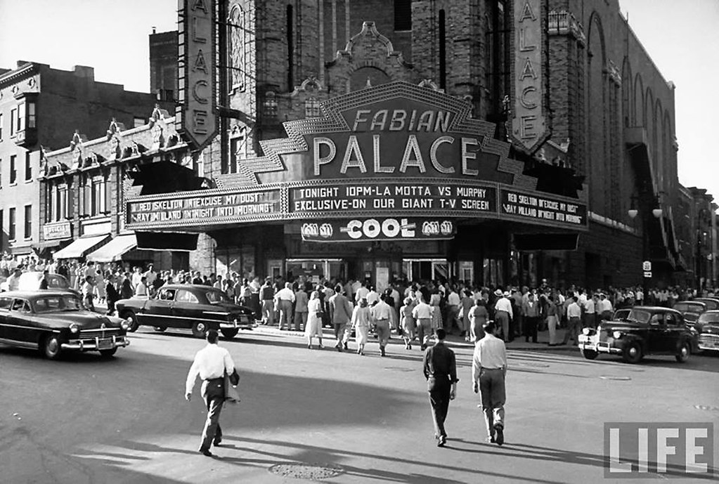 Palace Theater 1950 S Albany Ny Contributed By Joseph J