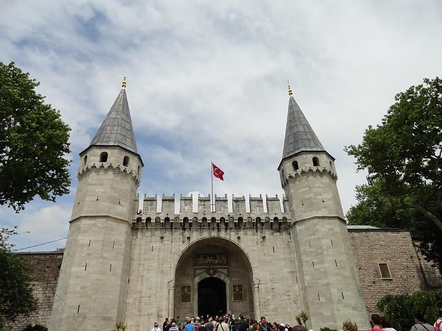 Topkapi Palace (Topkapı Sarayı), Istanbul, Turkey