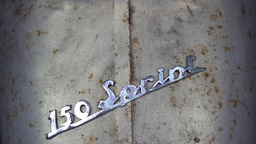 vespa 150 sprint veloce logo gerald de rijke flickr