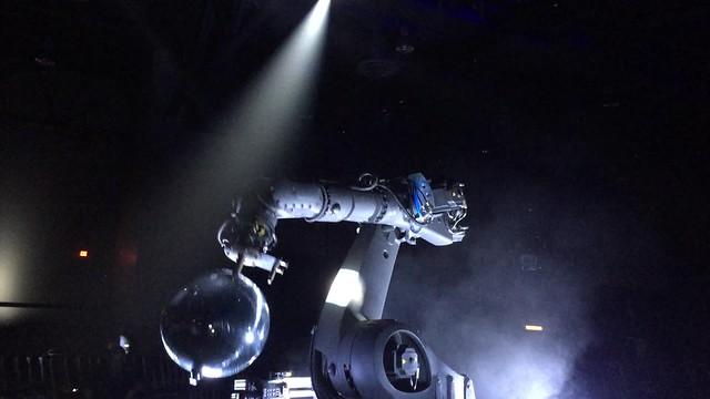 Bot & Dolly IRIS with Disco Ball Video