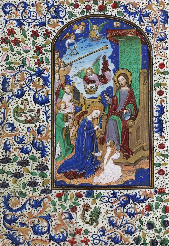 Libro de horas de Leonor de la Vega, siglo XV   Libro de