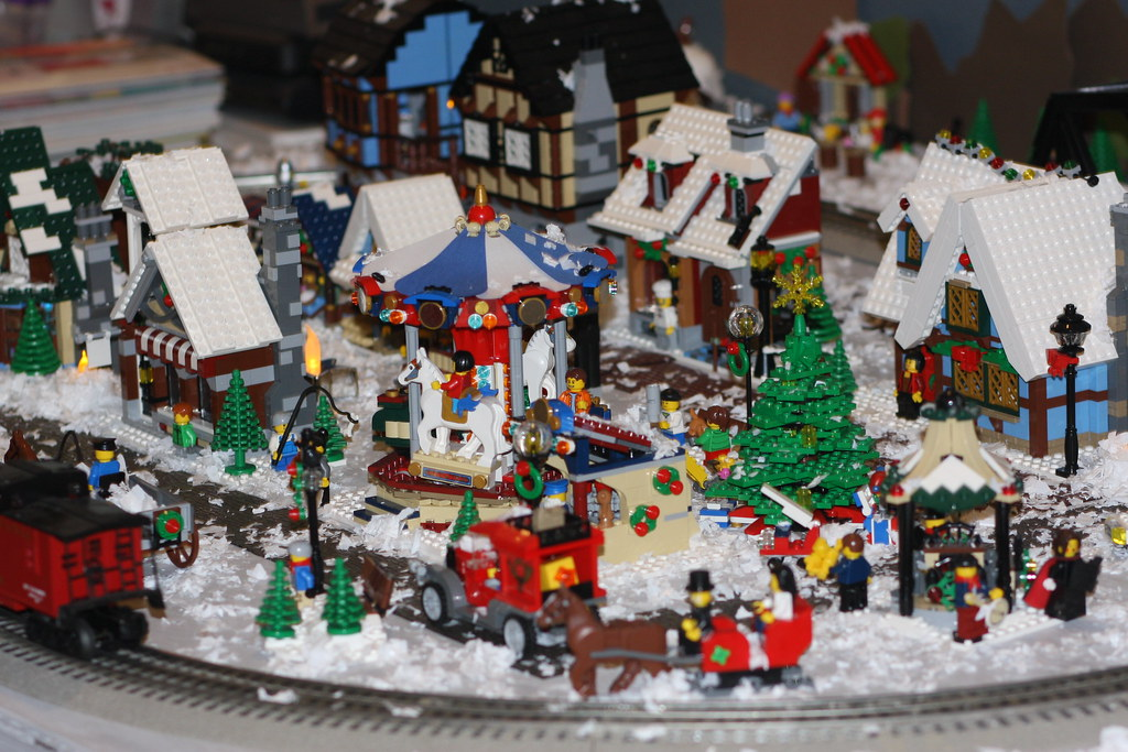 Christmas Villages Sets