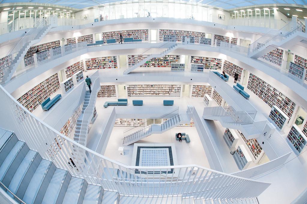 Stadtbibliothek Stuttgart State Library Stuttgart