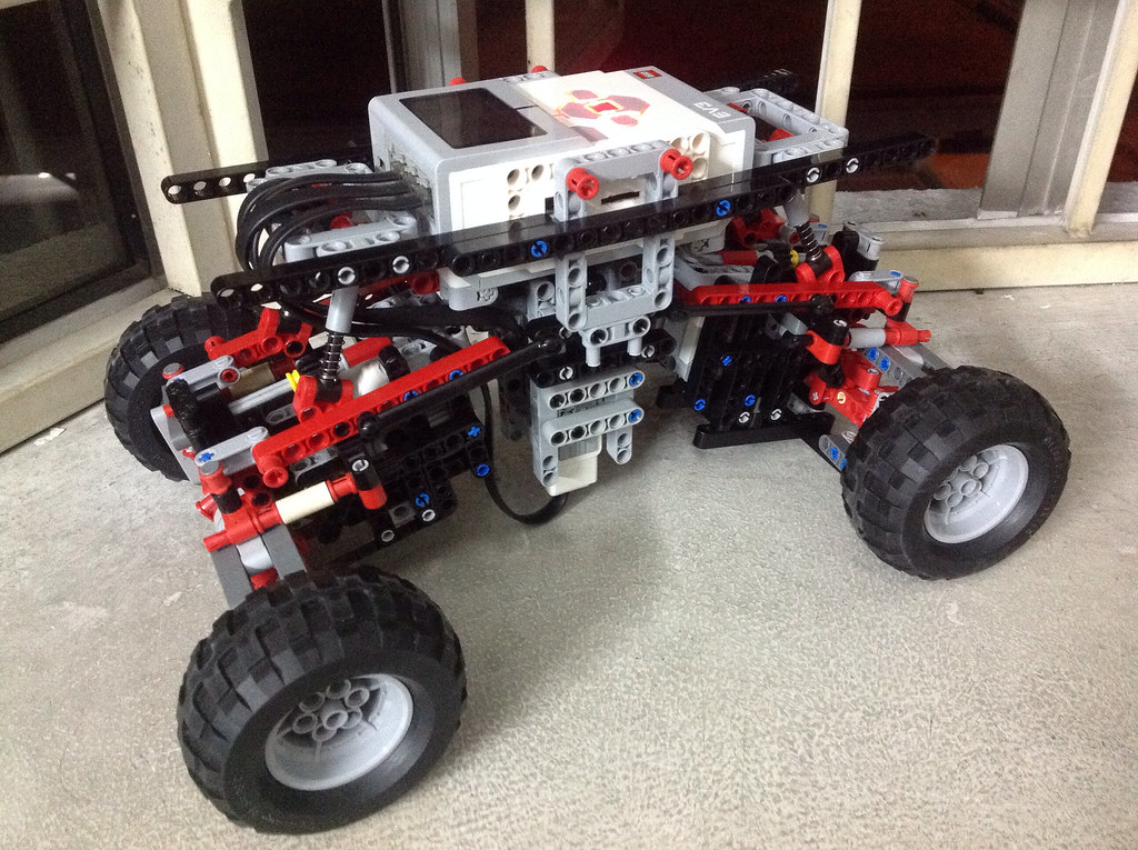 Lego Mindstorms EV3 4x4 Crawler Mimic Chassis Nick T Flickr | Lego ...