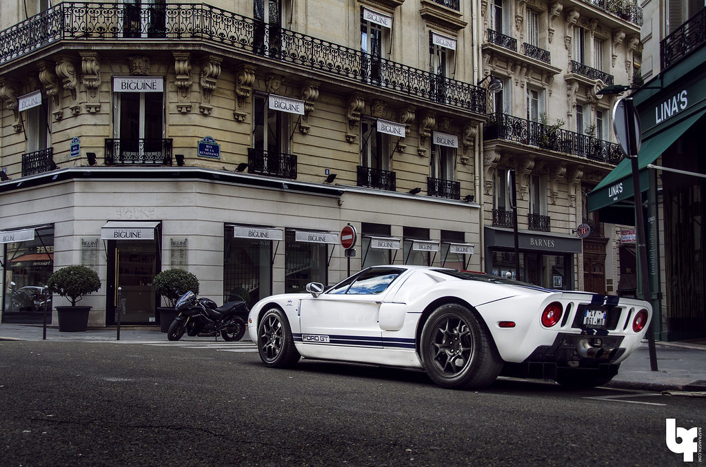 Ford Gt In Paris By Bas Fransen Photography