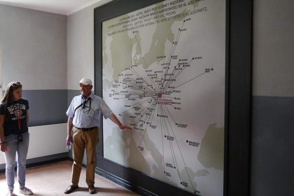 De toda Europa a Auschwitz