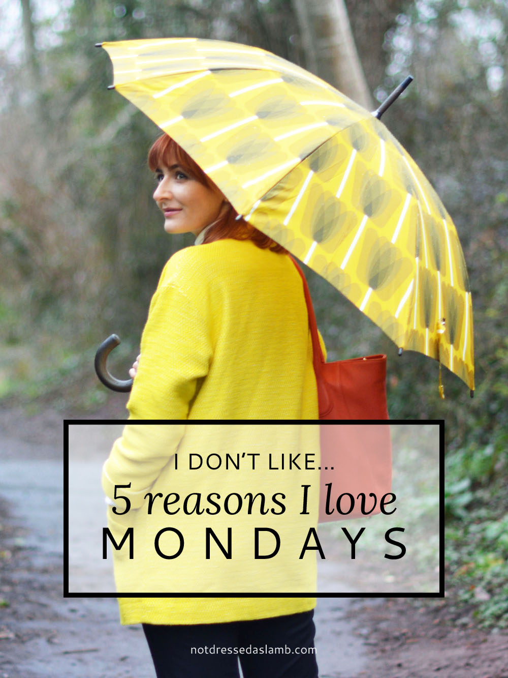 I Don't Like... 5 Reasons I Love Mondays | Not Dressed As Lamb