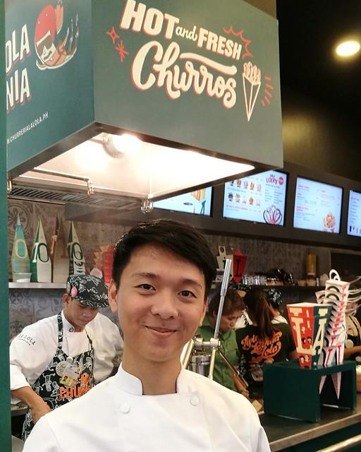 DavaoFoodTripS.com - Chef Chris Tejada of La Lola | Hola Amigos & Amigas... La Lola Churreria Opens at SM Lanang Premier!
