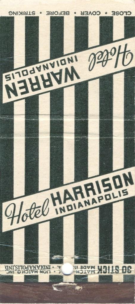 Hotel Harrison - Indianapolis, Indiana