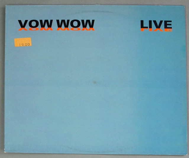 "VOW WOW LIVE ORIG UK PASSPORT RECORDS 12"" LP VINYL"