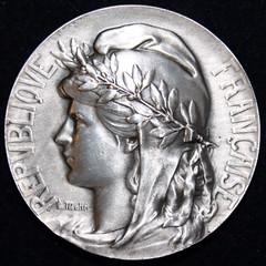 1930s Wine Vineyard Medal obverse