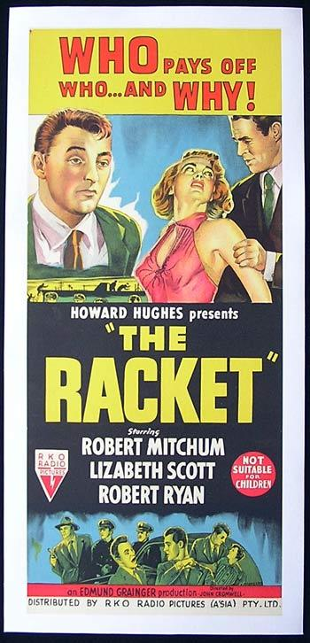 The Racket - 1951 - Poster 1