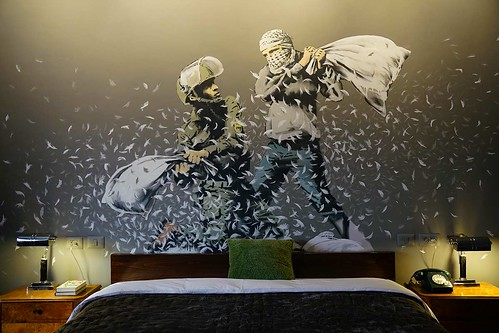 Walled Off Hotel by Banksy 12