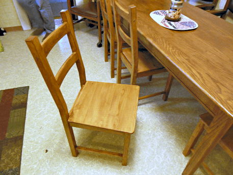 Pine Kitchen Table Legs