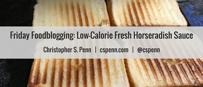 Friday Foodblogging- Low-Calorie Fresh Horseradish Sauce.png