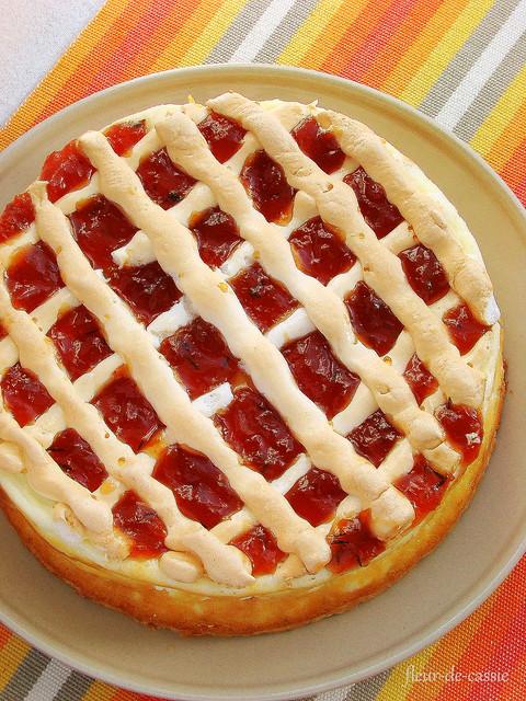 творожный пирог а-ля Ракоци 1