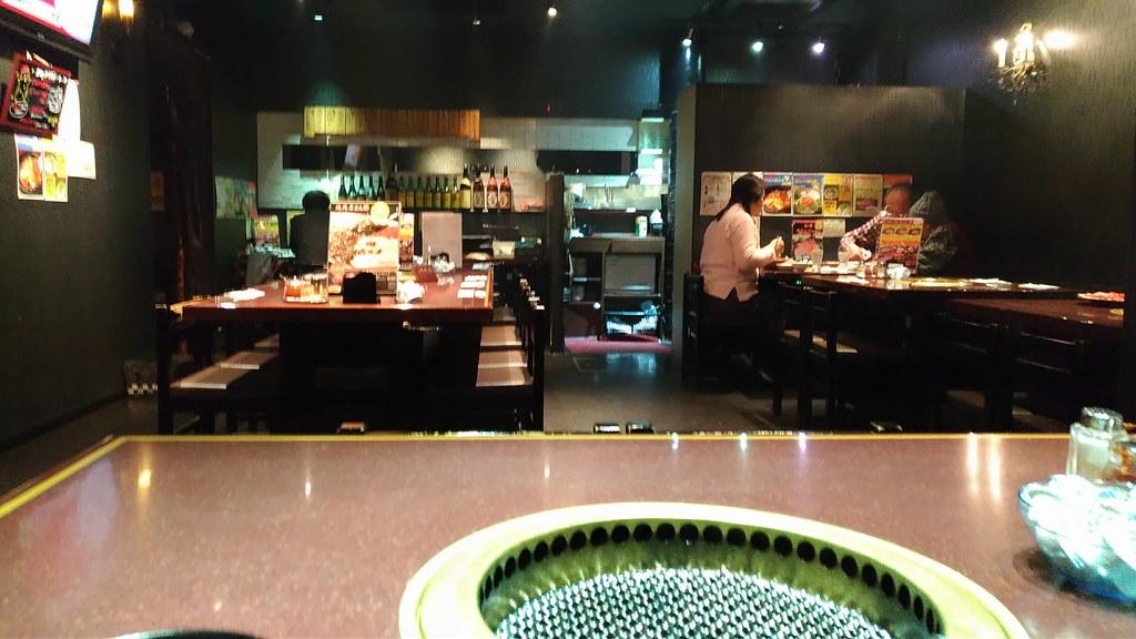 焼肉DOURAKUの店内の写真